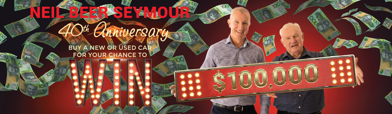 40TH ANNIVERSARY $100,000 GIVEAWAY